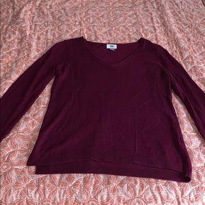 Magenta women's Old Navy sweater